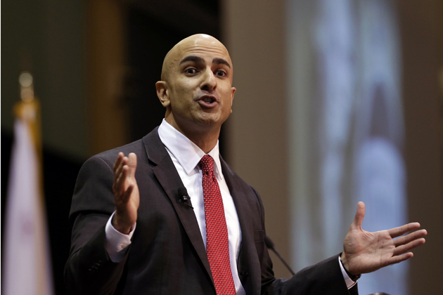 Neel Kashkari, a former U.S. Treasury official, announced that he thinks the nation's largest banks should be broken up (AP Photo/Rich Pedroncelli)