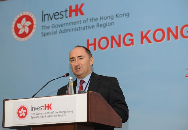 Simon Galpin, Director-General of Investment Promotion at Invest Hong Kong