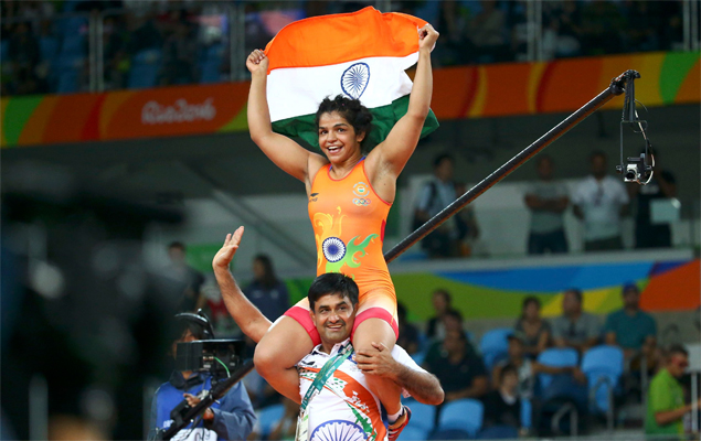 Sakshi Malik captured India's first medal in Rio after an 11-day drought.