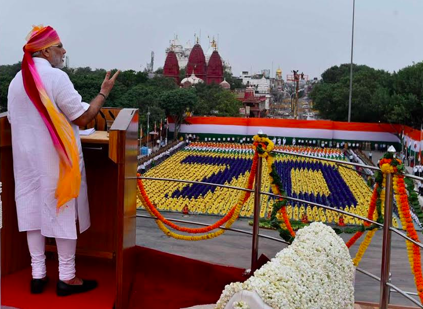 Prime Minister Narendra Modi delivered his third Independence Speech Monday.