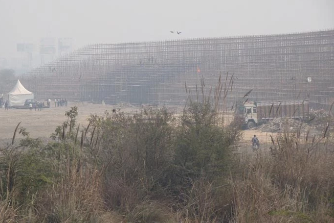 The Art of Living Foundation caused great ecological damage to the Yamuna floodplain by leveling the ground for temporary use during its World Culture Festival.