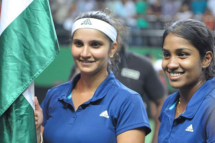 Sania and Thombare were defeated by China at the Rio Games.