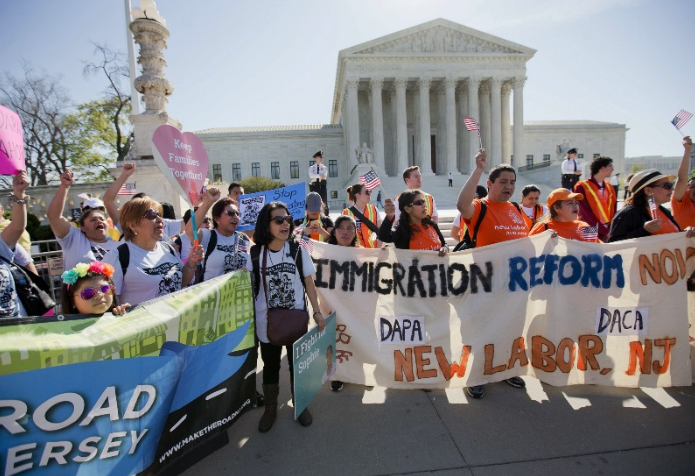 The Supreme Court announced Monday it will not rehear arguments of an immigration case.