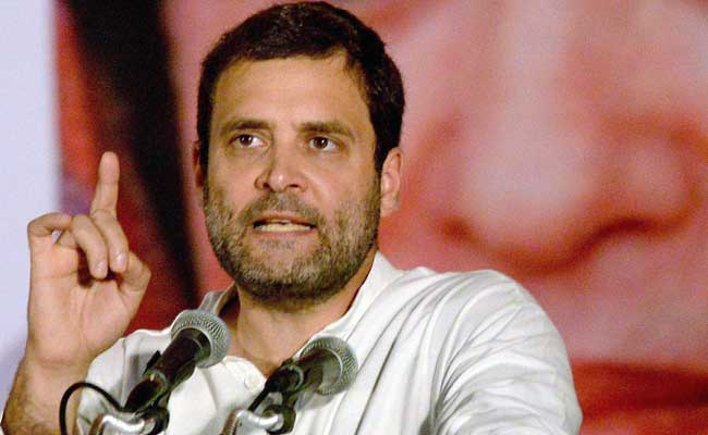 Rahul Gandhi was detained twice by police Wednesday.