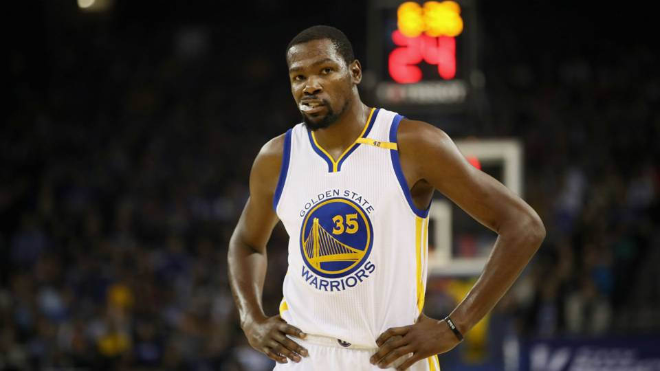 Kevin Durant was the highest scorer in Game One with 38 points