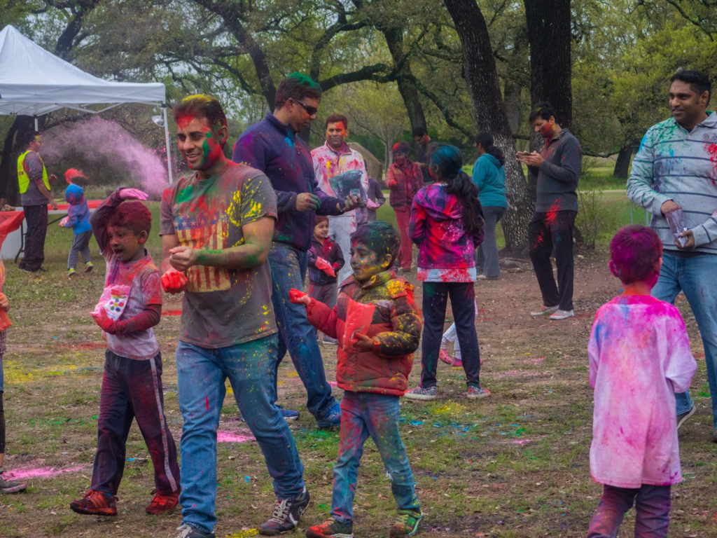 Holi celebrations, Ranch at Brushy Creek