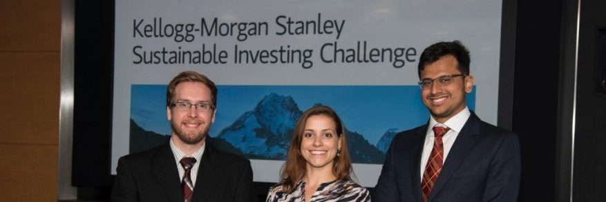 Team EduIndia wins at the Kellogg-Morgan Stanley Sustainable Investing Challenge