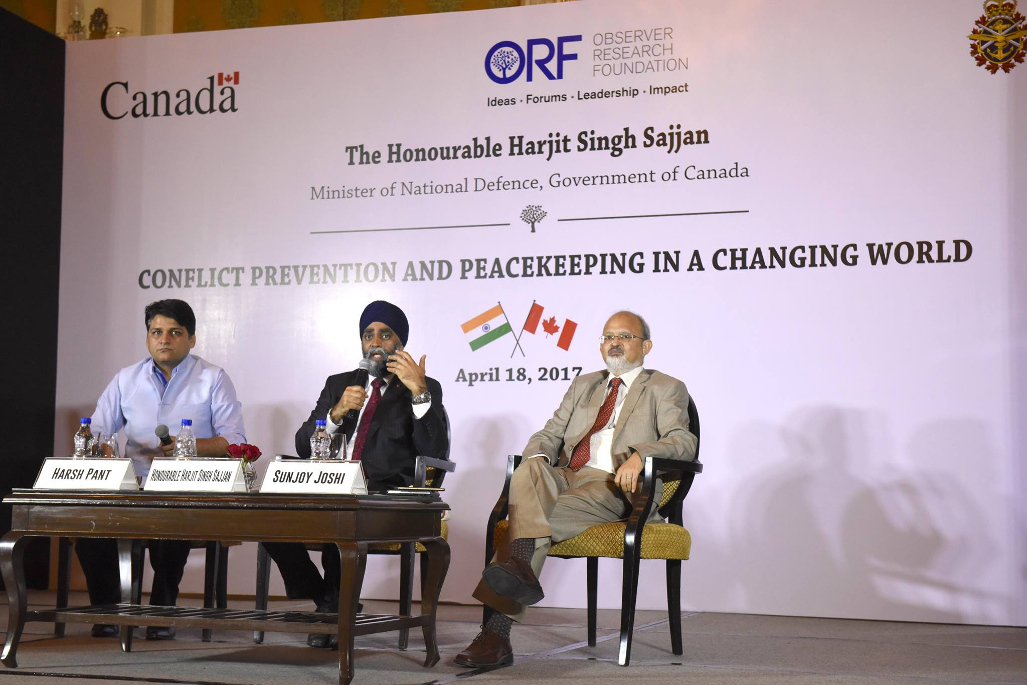 Canada's Defense Minister, Harjit Singh Sajjan visits India for Seven Day official State Visit. Photo: Facebook
