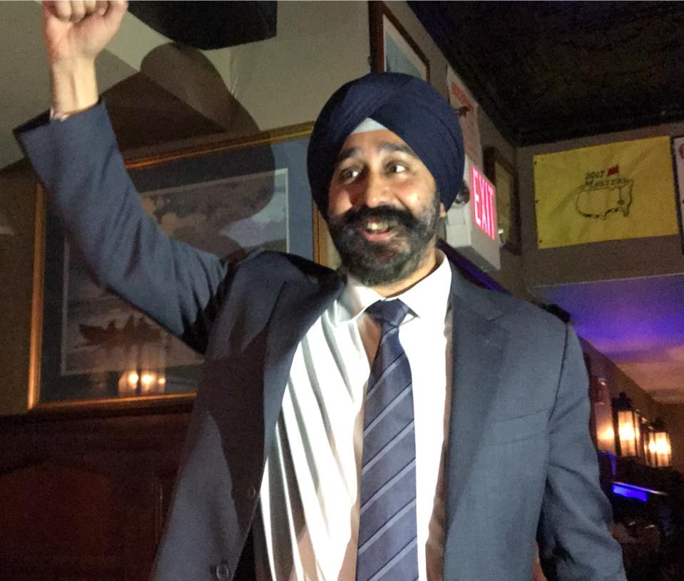Ravi Bhalla elected the new Mayor of Hoboken, N.J.